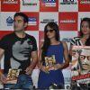 Sonakshi Sinha, Arbaaz Khan and Malaika Arora Khan at DVD launch of the movie Dabangg