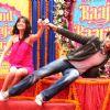 Anushka Sharma and Ranveer Singh at Press conference & first look launch of Yash Raj Film's Band Baa