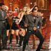 Mithun Chakraborty dancing on the sets of Colors Diwali show