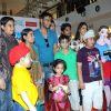 "Ajay Devgan at Promotion of movie  ""Toonpur Ka Super Hero"" at oberoi mall, Mumbai"