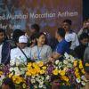 Juhi Chawla at Standard Chartered Mumbai Marathon 2011