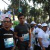 Rahul Dev at Standard Chartered Mumbai Marathon 2011