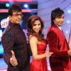 Javed Jaffrey : Javed Jaffrey, Urmila Matondkar and Terrence Lewis as a Judges of Chak Dhoom Dhoom Team Challenge