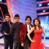 Javed Jaffrey : Chak Dhoom Dhoom Team Challenge Judges Javed Jaffrey, Urmila, Terrence Lewis with host Pravesh Rana
