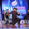Javed Jaffrey : Judge Javed Jaffrey shaking his legs with Rohan n group during the auditions at Chak Dhoom Dhoom