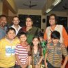 Usha Uthup at music launch of film''Satrangee Parachute'' in ST Catherine's children home