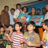 Star cast at music launch of film''Satrangee Parachute'' in ST Catherine's children home