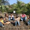 All friends are sitting together in Aasma movie
