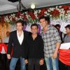 Akshay and Bobby with Anees Bazmee at Premiere of Thank You movie at Chandan, Juhu, Mumbai