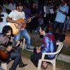 Rajeev Khandelwal on the sets of Soundtrack at Bandra, Mumbai