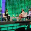 Cyrus Broacha, Vikram Chandra, Katrina Kaif & Farah Khan on NDTV Greenathon that took place at Yash