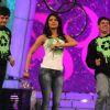Priyanka Chopra with Vikram Chandra & Cyrus Broacha on NDTV Greenathon that took place at Yash Raj S