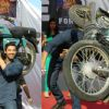 John Abraham and Genelia Dsouza promoting their movie 'Force' at Mahagun Mall Vaishali