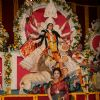 Sharbani Mukherjee at Sarbojanin Durga Puja Pandal in Mumbai