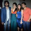 Gaurav Chopraa : Amit Tandon with Gaurav and Mouni at the bash of Munisha Khatwani