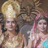 Gurmeet & Debina from NDTV Imagine's Ramayan