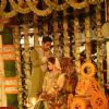 Abhishek Bachchan : Aishwarya Rai and Abhishek Bachchan in Ash's baby shower ceremony