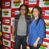 "Sunidhi Chauhan during the music launch of ""Sadda Adda"", at 92.7 BIG FM"