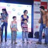 Abhishek Bachchan, Sonam Kapoor and Bipasha Basu promote 'Players' at Inorbit Mall in Mumbai