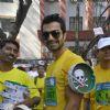Ashmit Patel attends Standard Chartered Mumbai Marathon 2012 in Mumbai