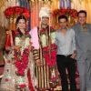 Danny, Ranjeet, Deepak and Manoj Bajpai grace Deepshikha Nagpal and Kaishav Arora wedding reception