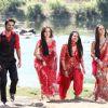 Sanaya Irani, Barun Sobti, Krystle Dsouza and Nia Sharma at Star Parivaar Awards 2012
