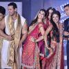 Ritesh Deshmukh, John Abraham, Jacqueline, Zarine Khan, Asin and Akshay Kumar of at fashion show