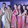 Ritesh, John, Shreyas, Shazahn, Zarine, Asin, Jacqueline & Akshay of Housefull 2 at fashion Show