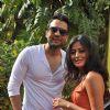 "Jackky Bhagnani and Nidhi Subbaiah during the Mahurat of Movie ""Ajab Gazabb Love"""
