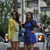 Malaika Arora Khan and Amrita Arora at Shilpa Shetty Baby Shower function