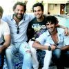 Abhishek Kapoor : Sushant Singh Rajput, Abhishek Kapoor, Amit Sadh, Raj Kumar Yadav At The First Press Conference Of Kai Po Che