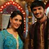 Kareena Kapoor : Sushant Singh Rajput, Kareena Kapoor On The Sets Of Pavitra Rishta