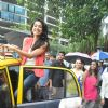 Sarah Jane Dias promotes Kya Super Kool Hai Hum