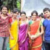 Hiten Tejwani : On the sets of Pavitra Rishta