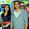 Sonakshi Sinha and Akshay Kumar at DVD launch of 'Rowdy Rathore'
