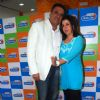 Bollywood actors Farah Khan and Boman Irani promotiing their film 'Shirin Farhad Ki Toh Nikal Padi' at Radio City 91.1FM. .