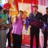 Dilip Joshi & others with Ranbir Kapoor on location of Taarak Mehta Ka Ooltah Chashmah