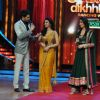 Manish Paul, Ragini Khanna and Kareena Kapoor at Film Promotion Heroine on Set Jhalak Dikhhala Jaa