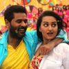 Sonakshi Sinha : Prabhu Deva and Sonakshi Sinha in OMG! Oh My God