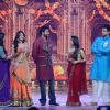 Bollywood actor Ajay Devgan shoots for Star Parivar Special Diwali show in Mumbai.