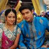 Shiv and Anandi at their Sangeet Ceremony in Balika Vadhu