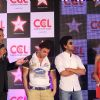 Harsha Bhogle, Sohail, Ritesh & Bipasha at CCL broadcast tie up announcement with Star Network