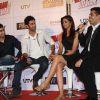 Ayan Mukherjee, Ranbir Kapoor, Deepika Padukone, Karan Johar at Yeh Jawaani Hai Deewani first look
