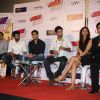 Aditya Roy Kapoor, Ayan, Ranbir, Deepika, Karan Johar at Yeh Jawaani Hai Deewani first look launch