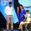 John Abraham and Shaina NC at Standard Chartered Charity Awards Night 2013