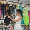 Amrita Rao checks out the collection at LASHA