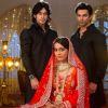 Surbhi Jyoti, Karan Singh Grover and Rishab Sinha