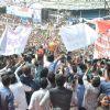 The Crowd gathers for Dahi Handi celebrations