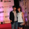 Hiten Tejwani : Hiten tejwani with wife gauri pradhan at chennai express success bash