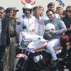 Saif Ali Khan, Sonakshi Sinha, and Tigmanshu Dhulia at a Road Safety Awareness Campaign
